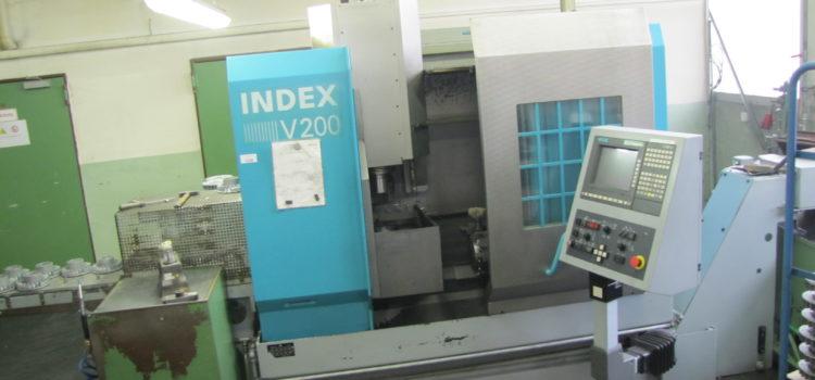 Im Auftrag des Insolvenzverwalter wird ein Vertikal-Drehautomat INDEX V200 und Gleitschliffanlage RÖSLER verkauft